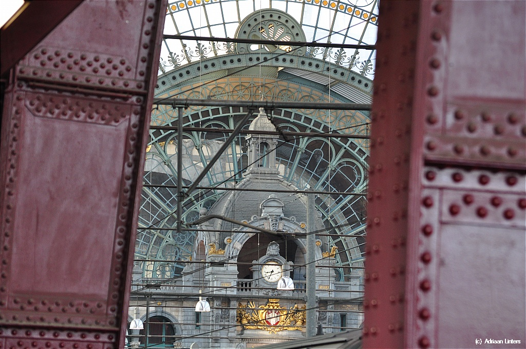 Antwerp Central Station - the railway Cathedral