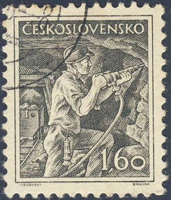 Post stamp Czechoslovakia