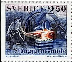 Post stamp Sweden