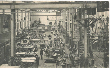 The Carels Workshops ca 1910