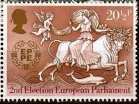 EU post stamp
